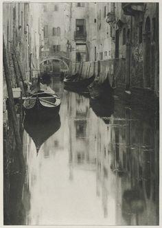 Alfred Stieglitz, A Venetian Canal, 1897,