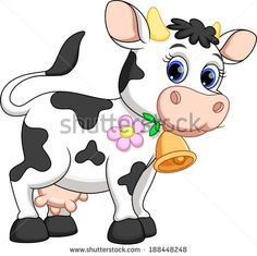 How to draw a cartoon cow - Google Search