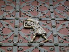 Detalle de la puerta de Santa Maria del Mar