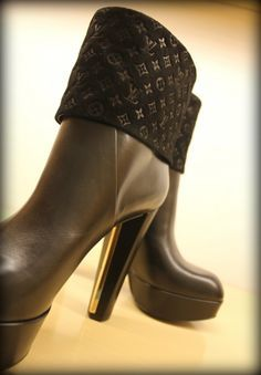Booties for the way i wanna walk!