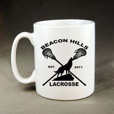 Beacon Hills Lacrosse Mug  by NAPcoByPutri on Etsy