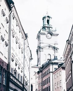 NEW POST! #gamlastan and its amazing places.. go to the link on my bio.. #travelblogger #morningseveningsinstockholm