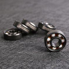 608 de Cerámica de Velocidad Ruedas de Rodamiento Para Dedo Monopatín Patín de ruedas Spinner