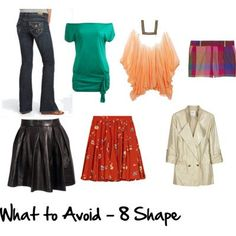 Understanding how to dress your 8 Shape body with a downloadable printable guide to learn how to flatter your figure and stop wasting money