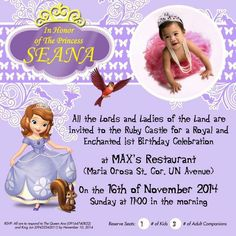 19 Best Seana S Party Images On Pinterest Sofia The First The One