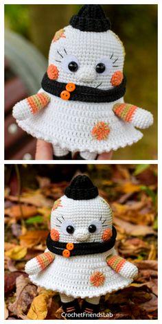 Crochet Crafts, Crochet Toys, Crochet Projects, Free Crochet, Plushie Patterns, Crochet Patterns Amigurumi, Softie Pattern, Pattern Sewing, Crochet Pumpkin Pattern