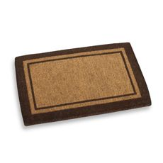 Is it weird to wish for a doormat for Christmas? We would use it every single day!