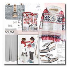 """#romwe"" by sweta-gupta ❤ liked on Polyvore featuring schillershop, Valentino, Loeffler Randall, Marc by Marc Jacobs, Swarovski, Macmillan and Dolce&Gabbana"