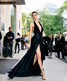 ADRIANA LIMA AT THE MET GALA 2017 IN NEW YORK CITY MAY 1, 2017