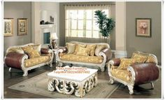 luxury white leather sofa set designs for living room with