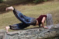 Natural Yoga in Chang Pants from Champa Clothing Stylish Outfits, Harem Pants, Yoga, Natural, Clothing, Fashion, Dapper Clothing, Outfits, Moda