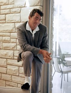 Dean Martin. @mrscrocetti   Had to tag you.  This picture...