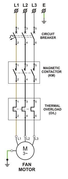 Power Circuit Diagram Of Dol Starter Circuit Diagram, Post Date, Proposal