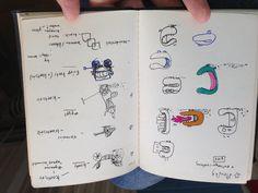 Tikkit character sketches