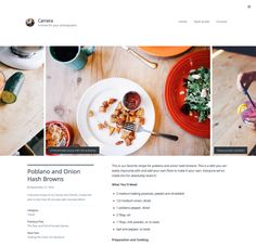 Beautiful, responsive, free and premium WordPress themes for your photography site, portfolio, magazine, business website, or blog.