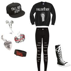 Punk Forever by awesome-nerd on Polyvore d1fe3ec08e4