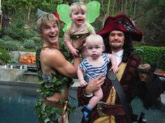 NPH, David and twins Halloween 2011 I've hot to admit, this is a fantastic gays couple with children idea.