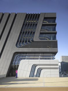Library & Learning Centre, (LLC) University of Economics and Business, Vienna by Zaha Hadid as Architects