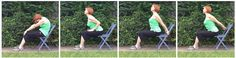 #chairyoga cat/cow camel ride chest expansion yoga. Gail Pickens-Barger, Chair Fitness Yoga Instructor
