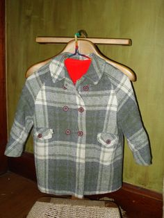 raglan wool jacket by happyapplegrl on Etsy, $35.00