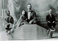 creepy, vintage, puppets.