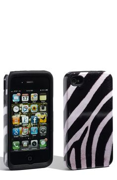 Zebra phone case $24