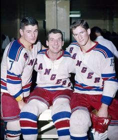 Rod Gilbert, Camille Henry & Jean Ratelle classy and skilled  which is unusual for the Rangers