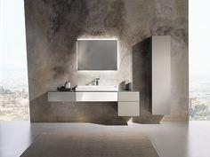 Collection de salle de bains XENO² - Meubles point d'eau, composables - 90 cm - ALLIA innove pour vous depuis 1892