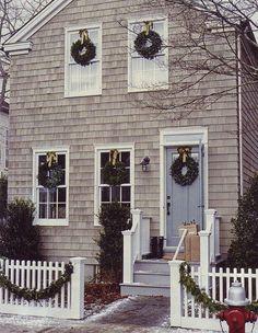 Seaside Christmas in New England