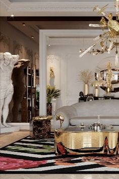 Combining the concept of art and design, these contemporary center tables are gorgeous in their own way, they can be the statement piece you've been looking for to add the finishing touch to your living room design. #coffeetabledesign #centertableideas #modernlivingroom #livingroomdecor #luxurylivingroom #millionairehome #luxuryapartment #insplosion #covethouse #bocadolobo Luxury Decor, Luxury Interior, Living Room Designs, Living Room Decor, Millionaire Homes, Top Interior Designers, Coffee Table Design, Modern Coffee Tables, Luxury Apartments