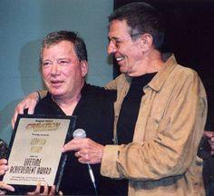 Willaim Shatner and Leonard Nimoy