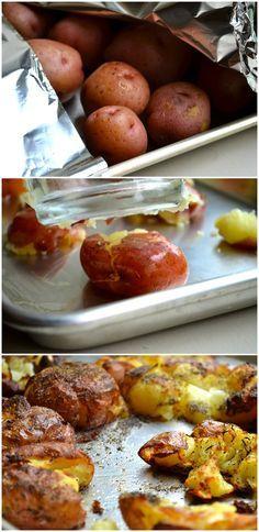 Crispy Smashed Potatoes from Rachel Schultz