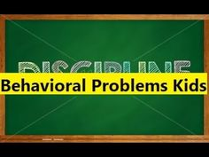 Behavioral Problems Kids - Stop Toddler Behavior Problems in Children