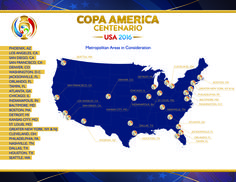 Venue Selection Process for Copa America Centenario USA 2016 Includes Interest from 24 Metropolitan Areas - U.S. Soccer