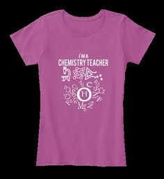 "Limited Edition shirt   Exclusive ""Chemistry Teacher"" Tee-shirt: not sold in stores!   SEE MORE Designs of chemistry teacher: https://teespring.com/stores/chemistry-teacher-t-shirt    Tip: If you buy 2 or more (hint: make a gift for   someone or team up) you'll save quite a lot on  shipping.   HOW TO ORDER ?     1. Click the BUY NOW 2. Select your Preferred Size, Quantity and Style 3. CHECKOUT!    -Shipping To 178 Countries-"