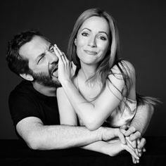 She's Hilarious! Leslie Mann on Fire with her husband Judd Apatow, December 2012