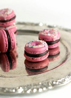 Donut Looking Macaroons