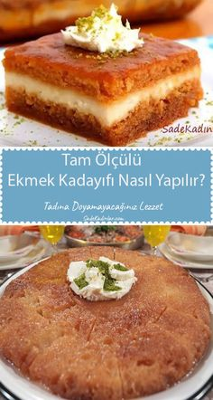 Turkish Recipes, Caramel, French Toast, Food And Drink, Menu, Sweets, Bread, Breakfast, Cake