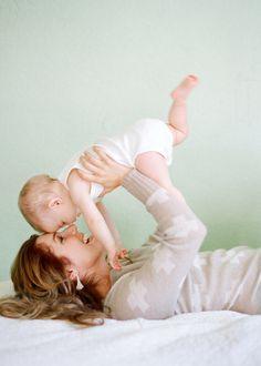 Nice moment                          #baby and #mom
