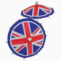 British Cocktail Umbrellas