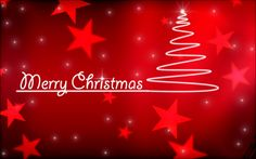 christmas love wallpaper image red star