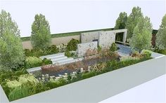 Looking forward to this: The M Garden by Andy Sturgeon for Chelsea 2012  Inspired by the Arts and Crafts movement, Andy will create a 'New English' design for The M Garden that celebrates traditional craftsmanship and the beauty of natural materials and country garden planting.