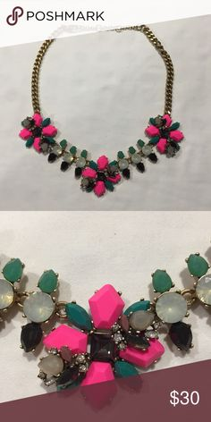 J. Crew Factory Statement Necklace Worn only a few times! J. Crew Factory Jewelry Necklaces