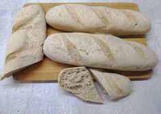 Sin Gluten, Gluten Free, Ciabatta, Vegan Recipes, Food And Drink, Bread, Tej, Glutenfree, Glutenfree