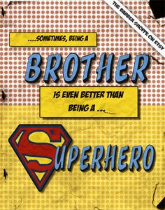 Sometimes Being a Brother is Better than being by TheBarberShoppe, $35.00