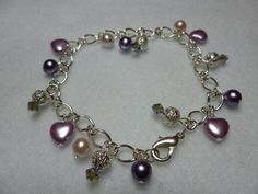 silver plated chain bracelet by Craftymouseuk on Etsy, £12.00