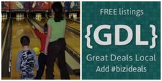 Deals for kids, bowling, FREE books, kids groups and more.