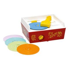 Record Player - Vintage Remake Fisher Price Vintage Teen Children- A large selection of Toys and Hobbies on Smallable, the Family Concept Store - More than
