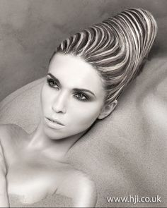 Anne Veck: Avant Garde Hairdresser of the Year 2011 Finalist  #photography #fashion #hair
