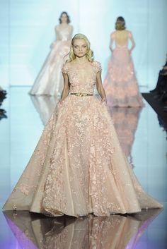 Zuhair Murad Spring 2015 Couture Fashion Show - Lena Lomako